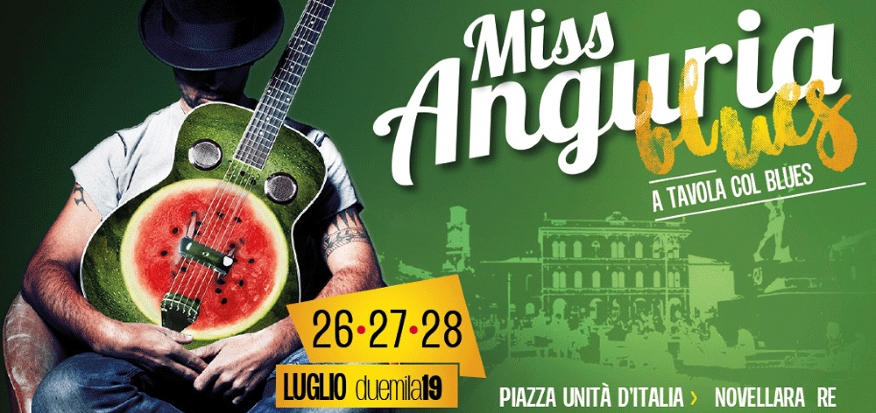 Miss Anguria Blues a Novellara