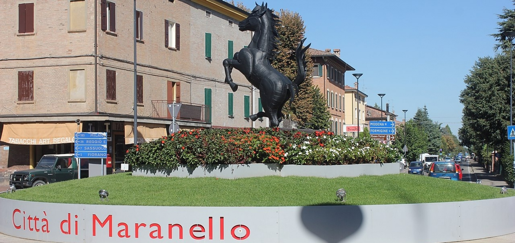 Maranello: city of Ferrari